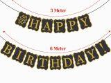 Happy 30th Birthday Banner Gold 30th Birthday Decorations Party Kit Happy Birthday