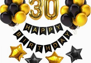 Happy 30th Birthday Banner Gold top 24 Best 30th Birthday Banners
