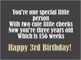 Happy 3rd Birthday Daughter Quotes 3rd Birthday Wishes Birthday Messages for 3 Year Olds