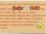 Happy 3rd Birthday Daughter Quotes Funny Birthday Quotes for Daughter Quotesgram