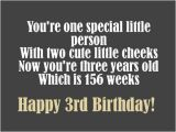 Happy 3rd Birthday Quotes 3rd Birthday Messages Wishes and Poems