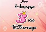 Happy 3rd Birthday son Quotes Happy 3rd Birthday Wishes Images Quotes for Boy or Girl