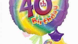 Happy 40 Birthday Girl Personalised Num 40 Happy 40th Birthday Girl Balloons