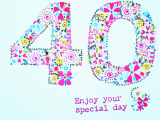 Happy 40 Birthday Girl Unique Happy 40th Birthday Wishes Wishesgreeting