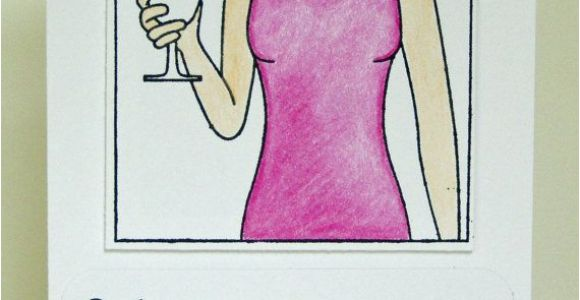 Happy 40th Birthday Girlfriend Funny 40th Birthday Card for Girlfriend Martini Keep Calm