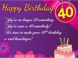 Happy 40th Birthday Quotes for Sister 160 40th Birthday Wishes Best Quotes Messages Hd Images
