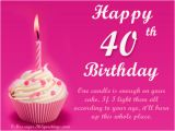 Happy 40th Birthday Quotes for Sister 40th Birthday Wishes Messages Greetings and Wishes Messages