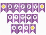 Happy 4th Birthday Banner Images Happy Birthday Banner Printable Happy Birthday Banner