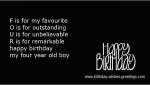 Happy 4th Birthday son Quotes Happy Fourth Birthday Quotes Quotesgram