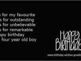 Happy 4th Birthday to My son Quotes Happy Fourth Birthday Quotes Quotesgram