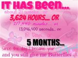 Happy 5 Months Birthday Baby Quotes 9 Months Anniversary Quotes Happy Quotesgram