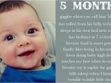 Happy 5 Months Birthday Baby Quotes Happy 3 Months Quotes Quotesgram