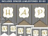 Happy 50th Birthday Banner Printable Free Birthday Banner Printable Happy Birthday Banner Black Gold