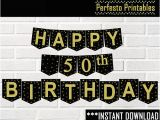 Happy 50th Birthday Banner Printable Free Happy 50th Birthday Banner Printable Printable 360 Degree