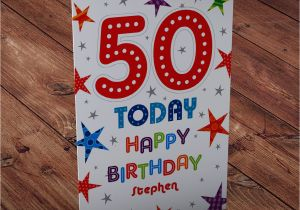 Happy 50th Birthday Brother Cards Gifts For In Law Gift Ftempo