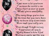 Happy 50th Birthday Mom Quotes 158 Best Images About Auntie Poem Gifts On Pinterest