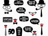 Happy 50th Birthday Printable Banners Happy 50th Birthday Banner Printable Printable 360 Degree