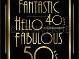 Happy 50th Birthday Printable Banners Printable 50th Birthday Signs Printable 360 Degree