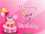 Happy 5th Birthday to My Niece Quotes Happy 5th Birthday Wishes and Messages Occasions Messages