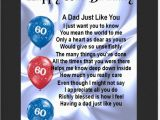 Happy 60th Birthday Dad Quotes Personalised Mounted Poem Print 60th Birthday Design
