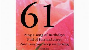 Happy 61st Birthday Quotes Happy 61st Birthday Quotes Quotesgram