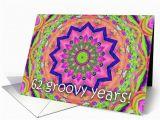 Happy 62nd Birthday Cards Multi Kaleidoscope Happy 62nd Birthday Card 171683