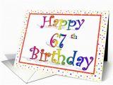Happy 67th Birthday Cards Happy 67th Birthday Cedarcreekwoody Restorepontoon Com
