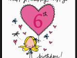 Happy 6th Birthday Quotes Happy Happy Happy 6th Birthday Juicy Lucy Designs