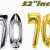 Happy 70th Birthday Banner Template Age 70 Happy 70th Birthday Ssilver 32 Quot Party Range