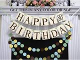 Happy 70th Birthday Banners Amazon Com Happy 80th Birthday Banner Gender Neutral