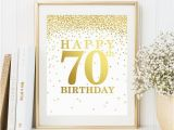 Happy 70th Birthday Dad Banner Happy 70th Birthday Set Of 2 Printables 70th Birthday