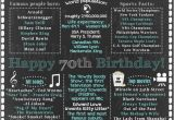 Happy 70th Birthday Decorations Best 25 70th Birthday Decorations Ideas On Pinterest