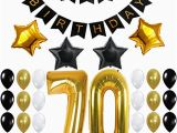 Happy 70th Birthday Decorations Party Supplies Decorations and Favors Everything to Get
