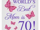 Happy 70th Birthday Mum Banner Happy Birthday Mom Posters Zazzle