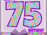 Happy 75th Birthday Cards Birthday Wishes by Age Pictures and Graphics