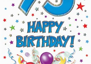 Happy 75th Birthday Cards Card Dot2dot Gifts