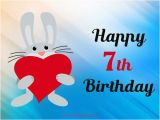 Happy 7th Birthday Quotes Happy 7th Birthday Wishes Occasions Messages