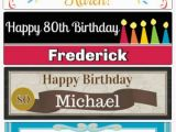 Happy 80th Birthday Banners 80th Birthday Ideas Best Party Ideas Gifts and Invitations