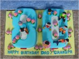 Happy 80th Birthday Dad Banner Yochana 39 S Cake Delight Happy 80th Birthday Dad Grandpa