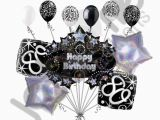 Happy 80th Birthday Decorations 11 Pc 80th Happy Birthday Balloon Decoration Party Elegant