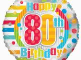 Happy 80th Birthday Decorations Radiant Happy 80th Birthday Balloon Easy Florist Supplies