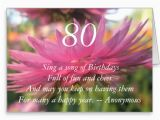 Happy 80th Birthday Quotes 80th Birthday Inspirational Quotes Quotesgram