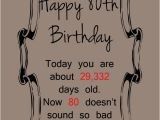 Happy 80th Birthday Quotes 80th Birthday Quotes for Women Quotesgram