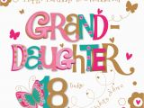 Happy 8th Birthday to My Daughter Quotes Granddaughter 18th Birthday Greeting Card Cards Love Kates