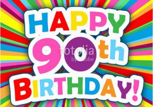 Happy 90th Birthday Decorations Quot Card Party Invitation Message
