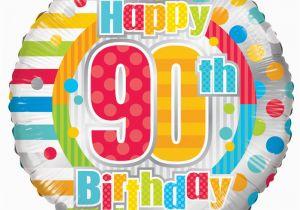 Happy 90th Birthday Decorations Radiant Balloon Easy Florist Supplies