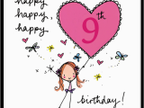 Happy 9th Birthday to My son Quotes Happy Happy Happy 9th Birthday Juicy Lucy Designs