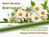 Happy Belated Birthday Flowers Belated Happy Birthday Wishes Flowers