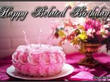Happy Belated Birthday Flowers Happy Birthday Glitter Graphics Comments Gifs Memes and