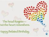 Happy Belated Birthday Quotes for Friends Belated Birthday Wishes Messages Greeting Cards